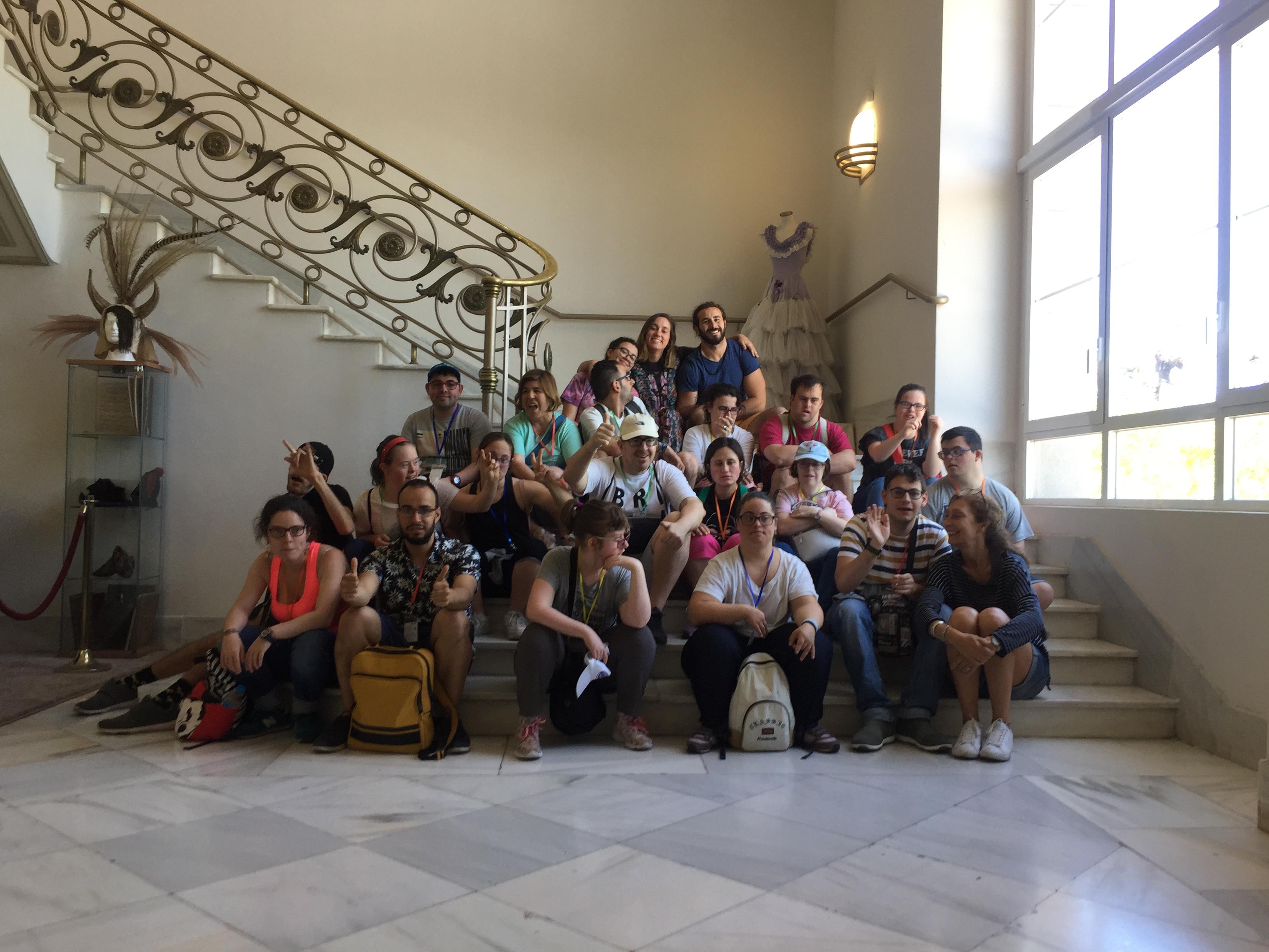 Visita de la Fundación Igual Arte