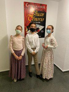 Nuestros alumnos en Don Quijote